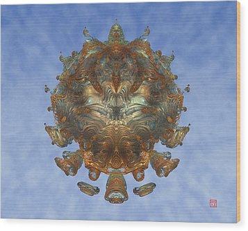 Mandalabrot Wood Print by David Jenkins