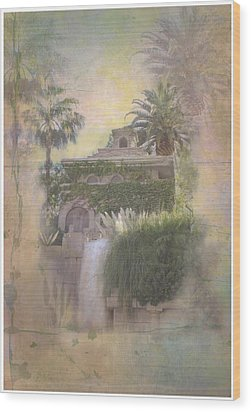 Mandalay Bay Wood Print by Christina Lihani