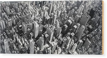 Manhattan  Wood Print by Chris Fraser