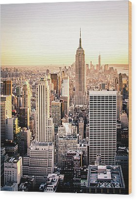 Manhattan Wood Print
