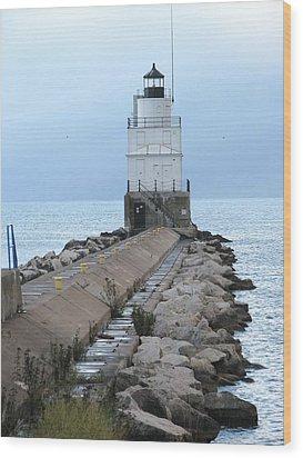 Manitowoc Breakwater Lighthouse  Wood Print