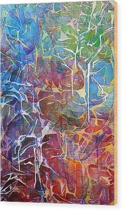 Manna Wood Print by Arlissa Vaughn