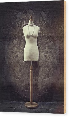 Mannequin Wood Print by Joana Kruse