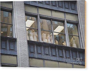 Mannequin-union Wood Print