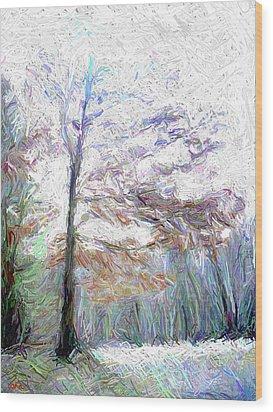 Maple In Light Wood Print