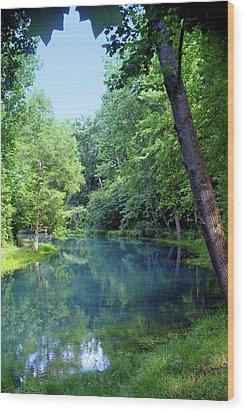 Maramec Springs 2 Wood Print by Marty Koch