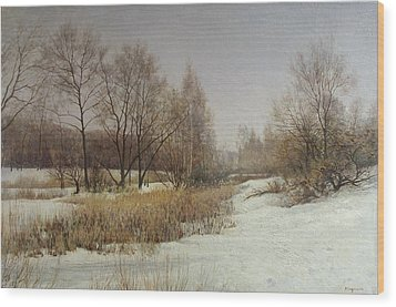 March Wood Print by Andrey Soldatenko