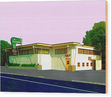 Marconi's Restaurant Wood Print