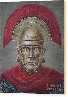 Marcus Cassius Scaeva Wood Print