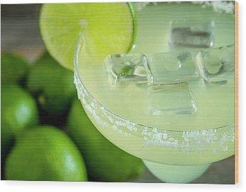 Wood Print featuring the photograph Margaritas Anyone by Teri Virbickis