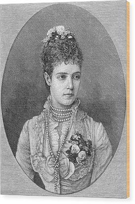 Maria Fyodorovna Wood Print by Granger