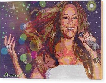 Mariah Wood Print