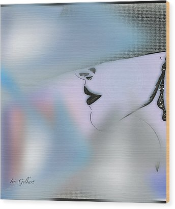Marion Abby Wood Print by Iris Gelbart