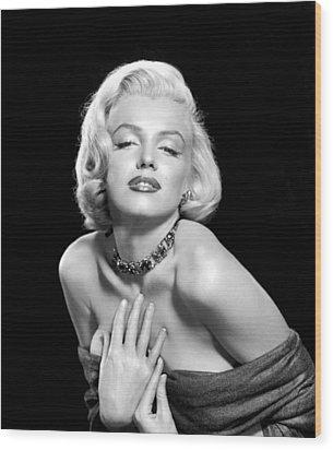 Marilyn Monroe Wood Print by Everett