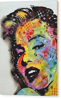 Marilyn Monroe II Wood Print by Dean Russo