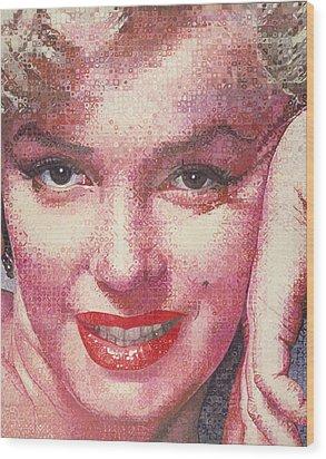 Marilyn Wood Print by Randy Ford