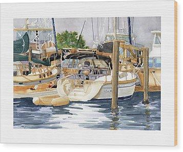 Marina Matrix Wood Print