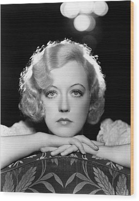 Marion Davies, Early 1930s Wood Print by Everett