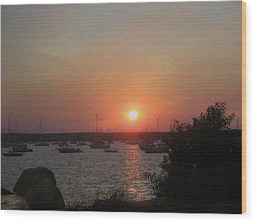 Marion Massachusetts Bay Wood Print