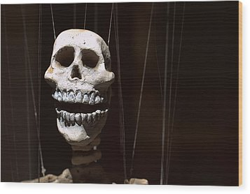Marionette Wood Print by Joseph Skompski