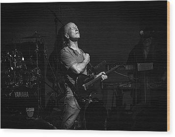 Mark Farner Gfr Wood Print by Kevin Cable