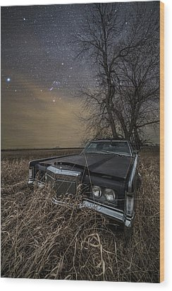 Wood Print featuring the photograph Mark IIi by Aaron J Groen