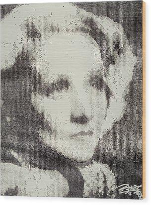 Marlene Wood Print by Randy Ford