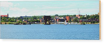 Marquette Michigan Harbor One Wood Print