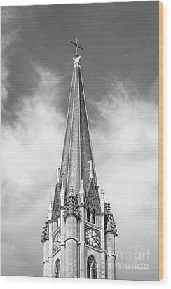 Marquette University - Church Of The Gesu Wood Print by University Icons
