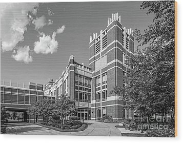 Marquette University Raynor Library Wood Print by University Icons