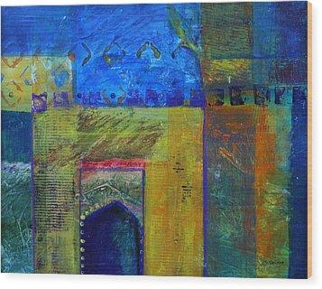 Marrakech Wood Print