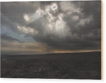 Wood Print featuring the photograph Mars Landscape by Ryan Manuel