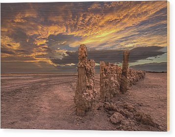 Wood Print featuring the photograph Mars by Peter Tellone