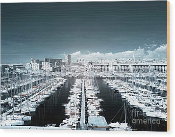 Marseille Blues Wood Print by John Rizzuto
