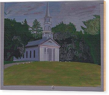 Martha Mary Chapel Wood Print by William Demboski