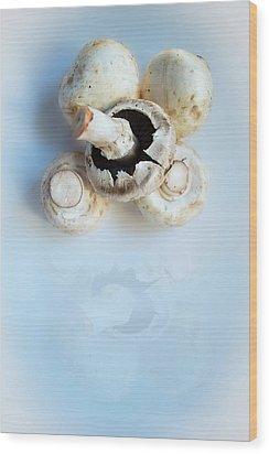 Marvellous Mushrooms Wood Print
