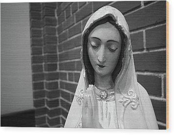 Wood Print featuring the photograph Mary by Jeanette O'Toole