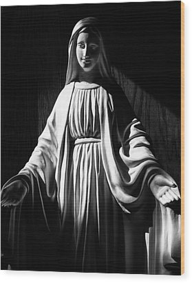 Wood Print featuring the photograph Mary by Monte Stevens