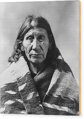 Mary Red Cloud, C1900 Wood Print by Granger
