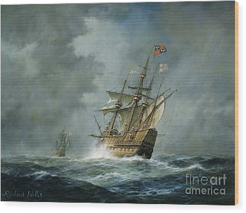 Mary Rose  Wood Print