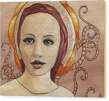 Mascara Wood Print by Ethan Harris