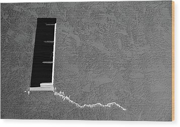 Wood Print featuring the photograph Masonic Window by CML Brown