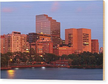 Wood Print featuring the photograph Massachusetts General Hospital by Juergen Roth