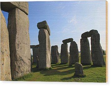 Massive Stones Wood Print by Kamil Swiatek