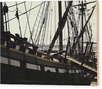 Master And Commander V2 Wood Print by Douglas Barnard