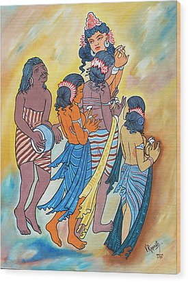 Masterpiece In Art Wood Print by Ragunath Venkatraman
