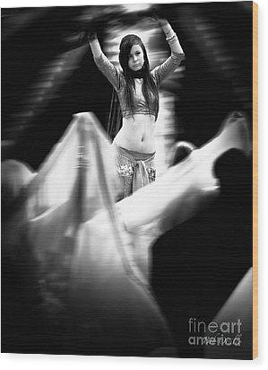 Wood Print featuring the photograph Mata Hari by Bob Orsillo