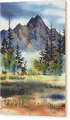 Matanuska Wood Print
