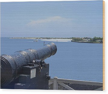 Matanzas Inlet Wood Print by Kenneth Albin
