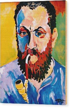 Matisse Wood Print by Hans Doller